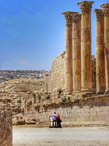 Templo de Afrodita en Jerash
