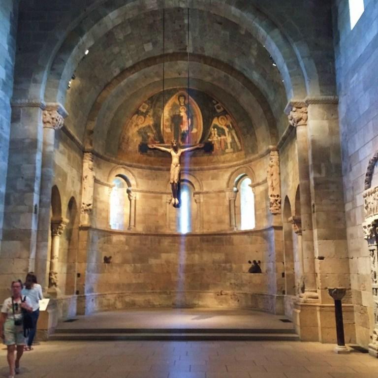 Adside de la iglesia de Fuentidueña