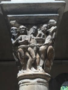 Detalle capitel The Cloisters
