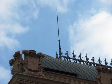 Fachada de la estación de Atocha