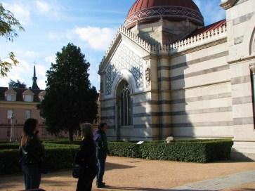 Fachada Panteón de los hombres ilustres