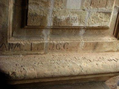 Muros de la Torre de la Catedral de Murcia