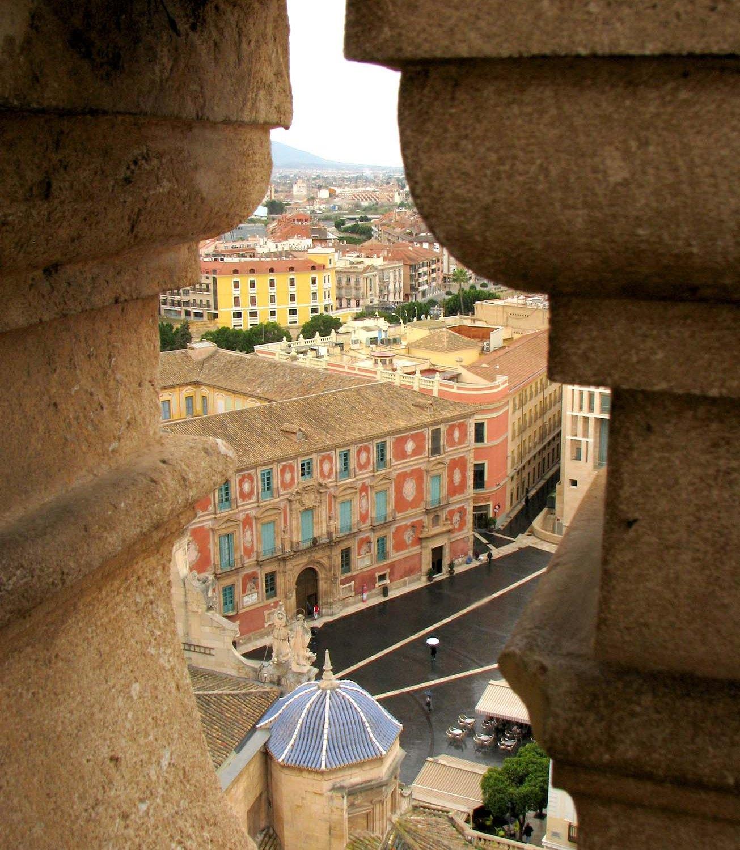 Plaza Belluga desde Torre de la Catedral