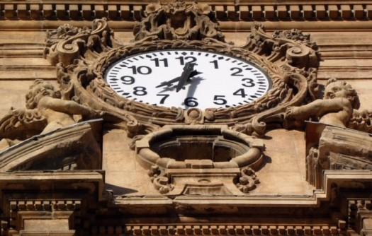 Reloj de la Torre de la Catedral de Murcia