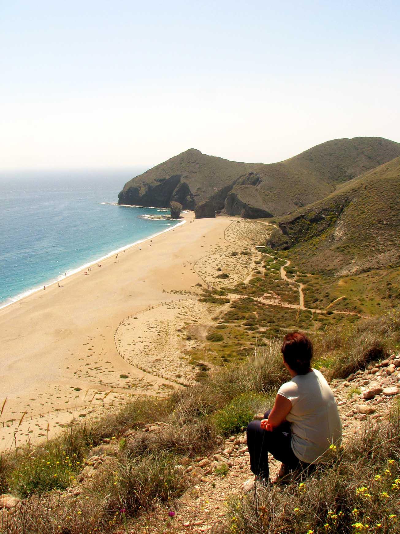 Playa de los Muertos - Carboneras