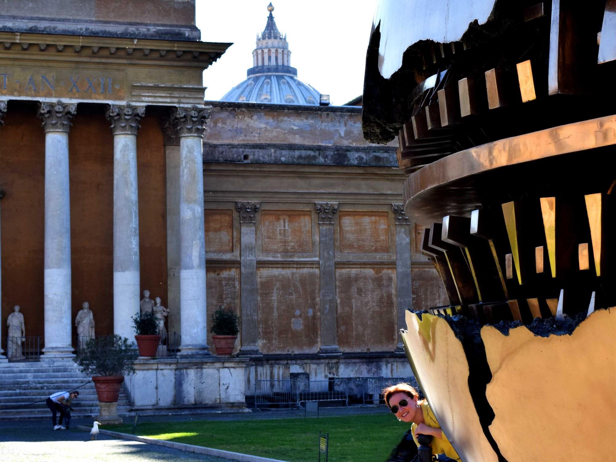 Museos Vaticanos -Patio de la piña