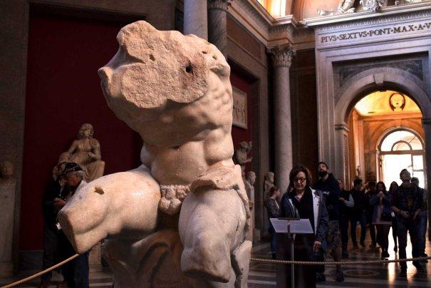 Torso del Belvedere-Museos Vaticanos