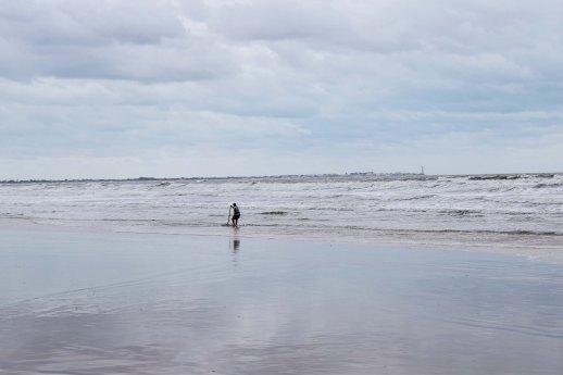 pescando en Doñana